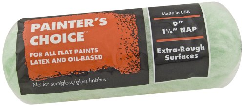 Rough Roller (Wooster Brush R272-9 Painter's Choice Roller Cover, 1-1/4-Inch Nap, 9-Inch)