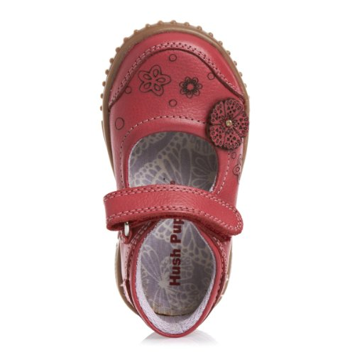 Hushpuppies Yaxley Shoes - Red Leather