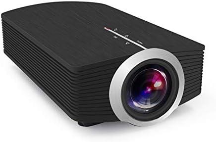 WWK Proyector LCD portátil, proyector 3D Lente recubierta de ...