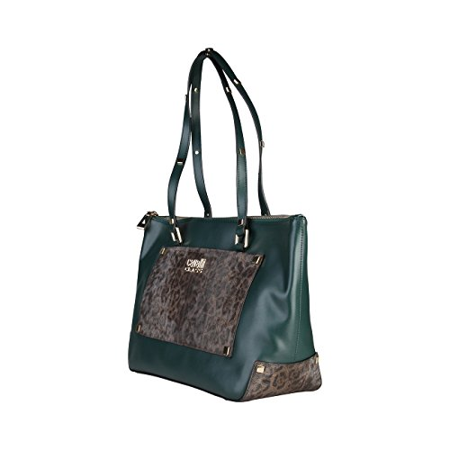 Genuine Class Cavalli Shopping Women Green Bag Designer qXXwd7
