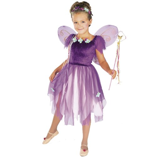 Plum Pixie Fairy Child Costume