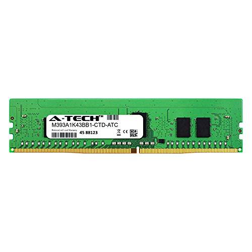 A-Tech 8GB Replacement for Samsung M393A1K43BB1-CTD - DDR4 2666MHz PC4-21300 ECC Registered RDIMM 1rx8 1.2v - Single Server Memory Ram Stick (M393A1K43BB1-CTD-ATC) ()