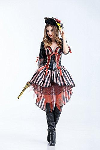 Ruanyi Pirate Costumes Halloween Luxury Pirate Movie Pirate