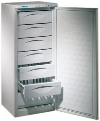 Congelador vertical Infrico CV 220 de 7 cajones: Amazon.es ...