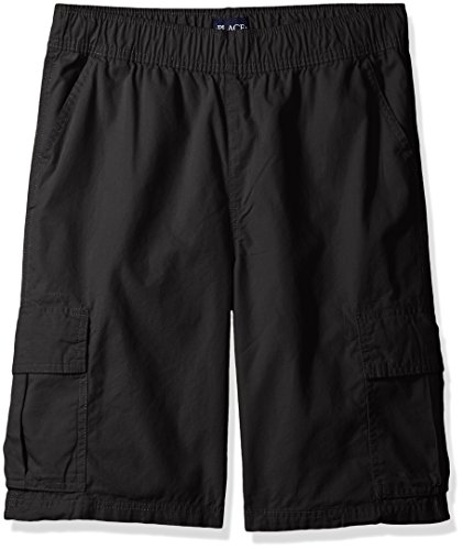 - The Children's Place Big Boys' Pull-on Cargo Shorts, Washed Black, 16H