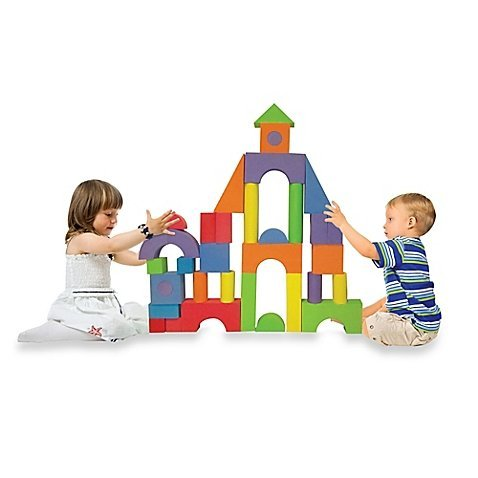 Verdes Jumbo Foam Building Blocks Set (Multicolor, 52-Piece)