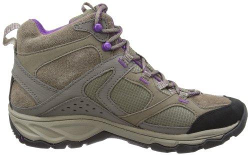 Merrell DARIA MID WTPF - Zapatos de senderismo de cuero mujer Boulder