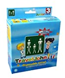 SPECIAL PACK OF 3-Travel John Disp Urinary Pouch Juvenile Bx/3