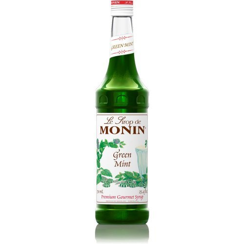 Glass Mint Green Flavor Syrup750 Milliliter by Monin ()