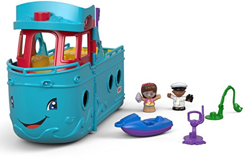 Fisher-Price Little People Travel Together Friend Ship]()
