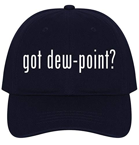 The Town Butler got Dew-Point? - A Nice Comfortable Adjustable Dad Hat Cap, Navy