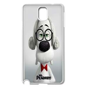 Diy Phone Cover Mr.Peabody & Sherman for Samsung Galaxy Note 3 N7200 WEQ329488