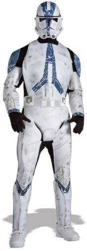 Deluxe Clone Trooper Adult Costume - (Star Wars Clone Armor For Sale)