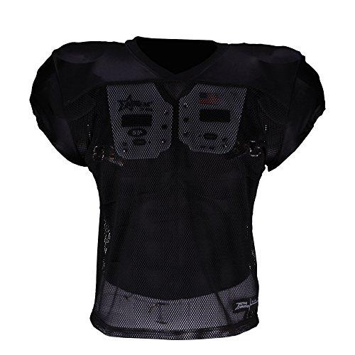 shirt Américain D'entraînement Active Athletics T Football Noir x0qwa8