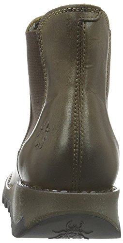 Chelsea London Donna Salv Fly Marrone Stivali olive wRqt0d1x