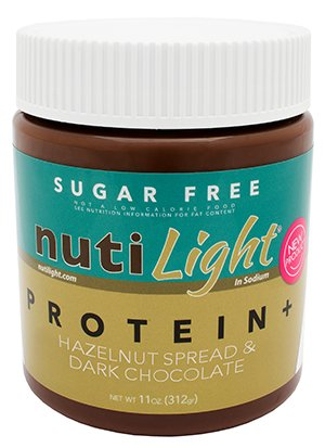 Spread Sugar Free - NutiLight Protein Plus Hazelnut Spread 11oz