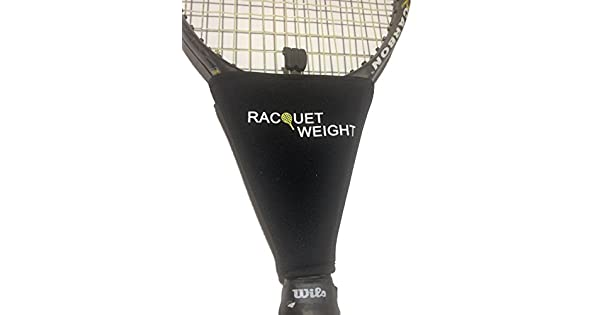 Amazon.com: Peso ayuda a la formación raqueta de tenis ...