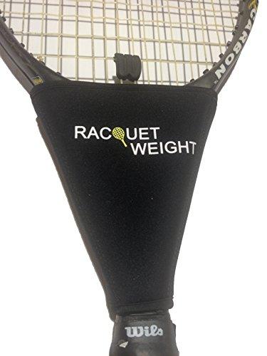 Racquet Weight - Heavy, Black
