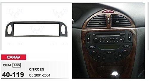 2004 CARAV 40 119/DIN Autoradio Fa/çade dautoradio pour Citro/ën C5/2001