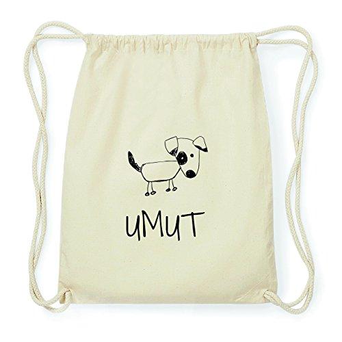 JOllipets UMUT Hipster Turnbeutel Tasche Rucksack aus Baumwolle Design: Hund rzK650eQr