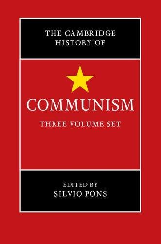 The Cambridge History of Communism 3 Volume Hardback Set