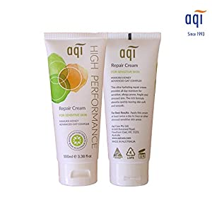 AQI High Performance Repair Cream – Body cream for Sensitive, Allergy Prone and Fragile Skin –Moisturizing, Soothing, Natural Face Cream - 3.38 fl oz