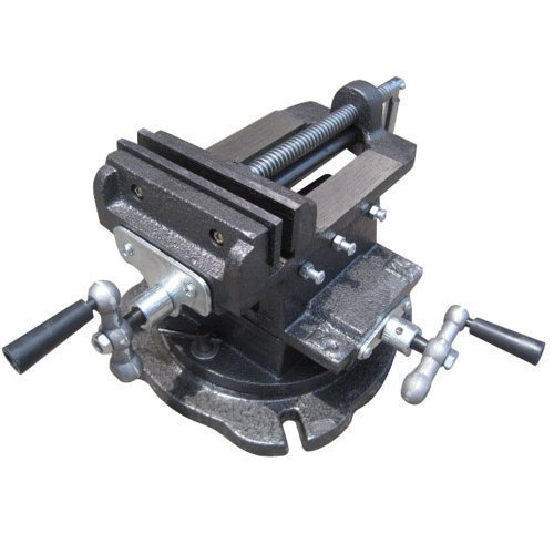 Merry Tools HK 4' Mechanical Swivel Base Cross Multi Direction Milling Bench Vice Clamp 402284 KATSU Tools