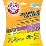 yz vacuum bags - Arm & Hammer Premium Allergen Odor Eliminating Vacuum Bags, Hoover Y&Z Premium, 3 Pack