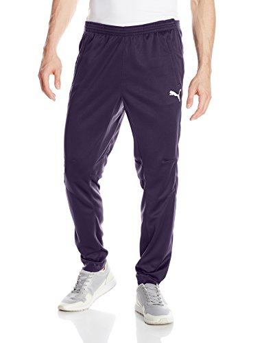Puma Men's Training Pant, New Navy/White, Medium