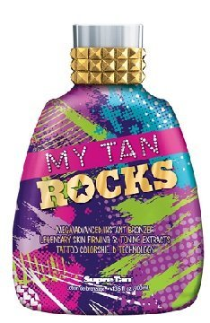 My Tan Rocks Natural Bronzer Tanning Lotion 13.5 oz by Supre