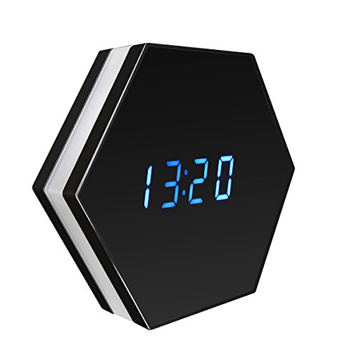 SIKVIO WIFI Hidden Camera Alarm Clock Camera HD 1080P Spy Camera Security Camera Wireless Nanny surveillance Camera with Motion Detection Night Vision by SIKVIO