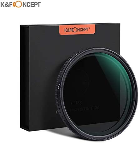 Rakuby キヤノンソニーニコンカメラ用 カメラレンズ用 K&Fコンセプト72mm 超薄型 可変 ニュートラルデンシティ ND