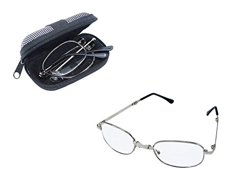 Reading glasses for women and men. Case and cleaning cloth Included. By D-M Eyes. - M Glasses