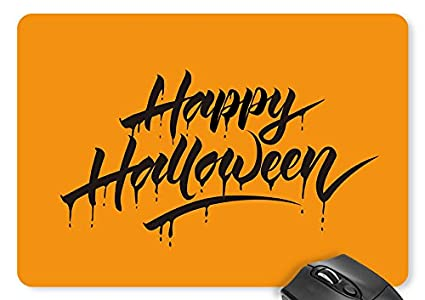 halloween word art mouse pad 11898 inches game mouse mat d0724516