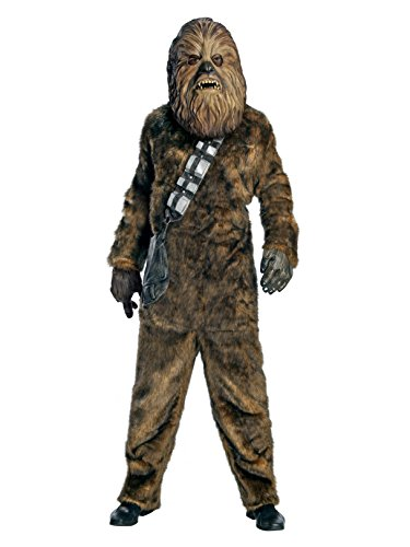Star Wars Chewbacca Deluxe Faux Fur Full Mask -