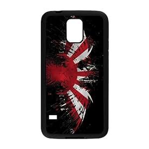 Samsung Galaxy S5 Cell Phone Case Black Japan Flag B1N2F