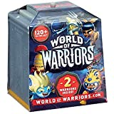 World of Warriors – 2-Pack – 2 Mini-Figurines de Guerriers + 1 Temple – Modèle Aléatoire
