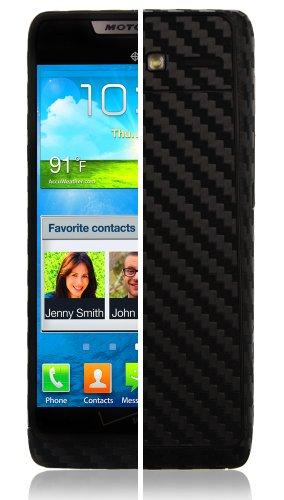 Motorola Droid Razr M Carbon Fiber Full Body, Skinomi TechSkin Carbon Fiber Skin for Motorola Droid Razr M