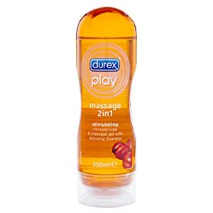 Durex Play Stimulating 2 in 1 Massive Gel Intimate Lubricant, 200 Millilitre