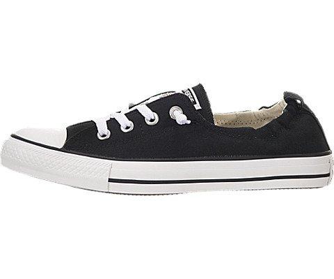 Price comparison product image Converse Women's Chuck Taylor All Star Shoreline Slip On Fashion Sneaker,  Black,  7.5 M US