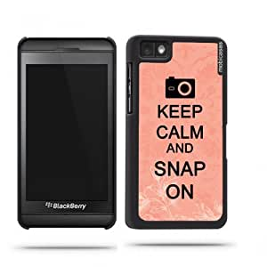 Keep Calm And Snap On Coral Floral Google Nexus 4 Case - For Nexus 4