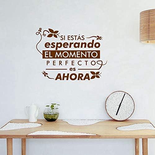 Crjzty Monster Stickers Pegatinas de Pared murales en español Citas de la Vida española Pegatinas de Pared de Vinilo decoración para el hogar decoración de la Sala de Estar: Amazon.es: Hogar