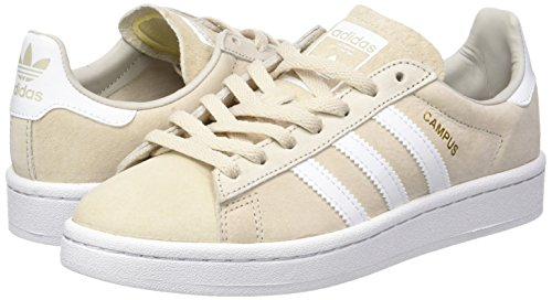 Zapatillas Campus De crystal Mujer White footwear clear Para Brown White W Marrón Adidas Deporte qH6wfqg