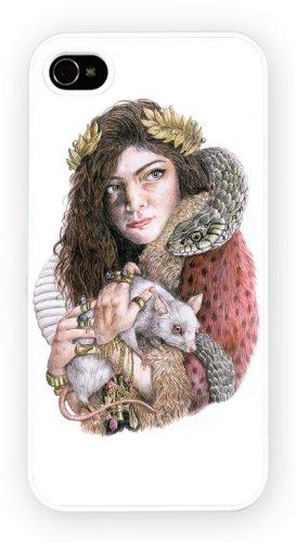 Lorde, iPhone 4 4S, Etui de téléphone mobile - encre brillant impression