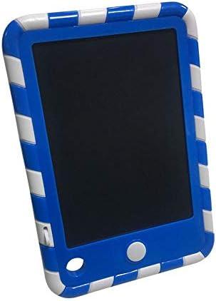 LKJASDHL 4.4インチLCDタブレットミニポケット子供パズル早期教育描画ボードワードパッド液晶ライティングタブレット (色 : 青)