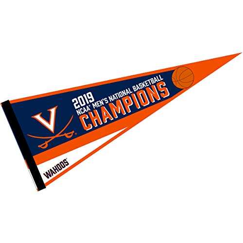 College Flags and Banners Co. Virginia Cavaliers Wahoos Basketball National Champions Pennant
