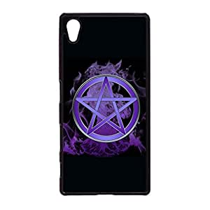 Sony Xperia Z5 Protective Mobile Shell Personalized Protective Phone Case Snap on Sony Xperia Z5 Color Diverse Pentagram Pattern Cover Back