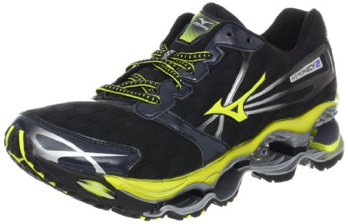 Mizuno Men's Wave Prophecy 2 Running Shoe,Anthracite,12.5 D US