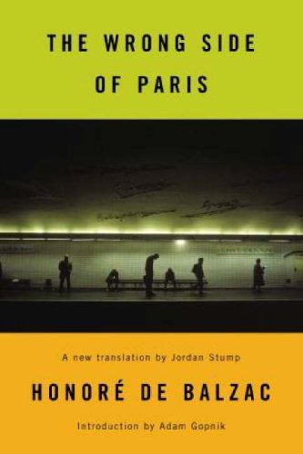 Book cover for The Wrong Side of Paris