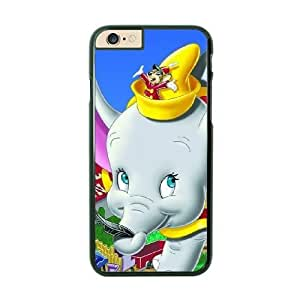 Dumbo Image On The iPhone 6 Black Cell Phone Case AMW896391
